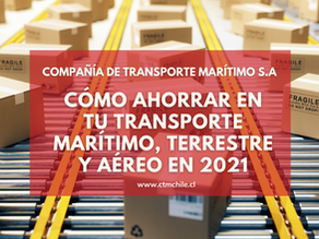 Cómo ahorrar en tu transporte marítimo, terrestre y aéreo en 2021