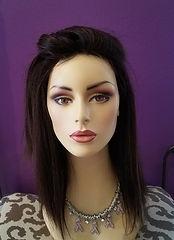human hair wig, synthetic wig, wig