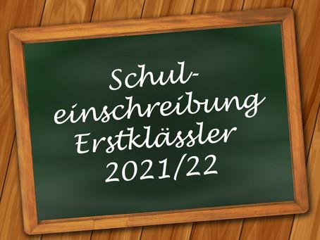 Schuleinschreibung 2021/22