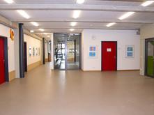 Etage mit Lehrerzimmer
