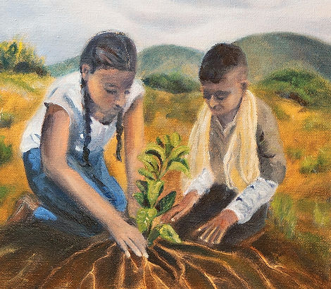 Mary Ann Manchengo_Nourishing the Roots