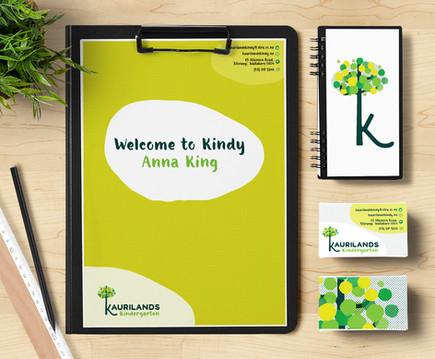 Kaurilands Kindy Stationery