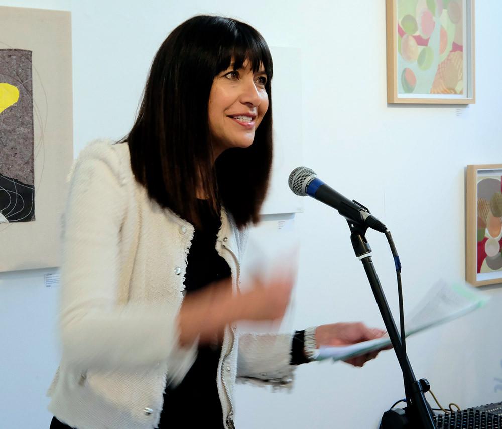 Carol Hirshfeld MC speaking