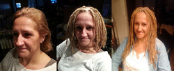 Dreadlock Extensions w/ 1 Yr Later