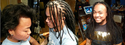 Dreadlock Extensions w/ 3 Yrs Later
