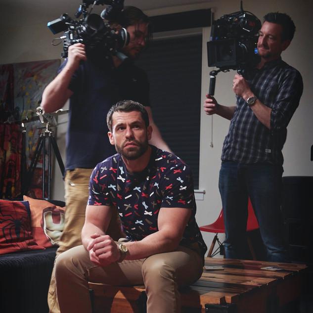 Kelvin Fletcher Behind the Scenes