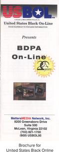 Brochure for United States Black Online