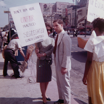 Image of the Civil Rights Movement from Amistad on the Go!