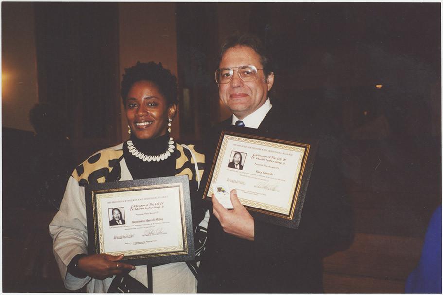 Photograph of Antoinette Harrell-Miller and Gary Groesch, 2002