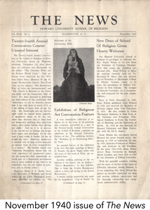 November 1940 issue of The News