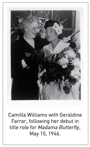 50 Years/50 Collections: Camilla Williams