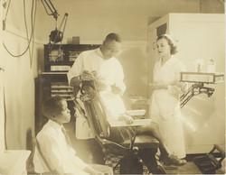 Dental clinic at Valena C. Jones School, circa 1940.
