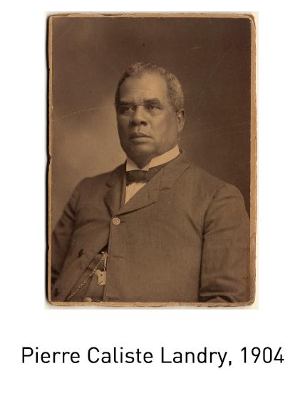 Pierre Caliste Landry, 1904