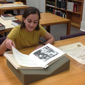 An Undergraduate Researcher's Look Inside the Lorenzo Dow Turner papers