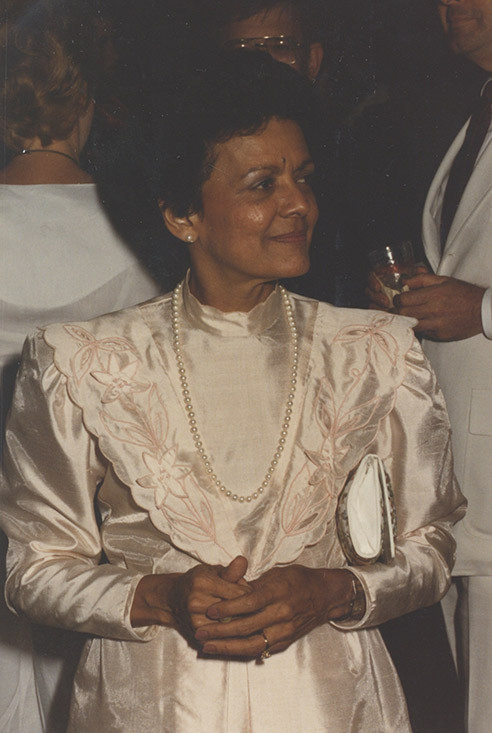 Photograph of Sybil Morial, undated