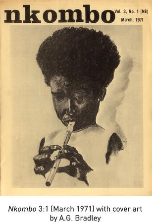 """Nkombo a """"little magazine"""" of the Black Arts Movement"""