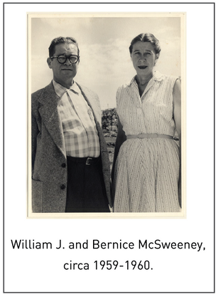 50 Years/50 Collections: William J. and Bernice McSweeney Papers, 2010