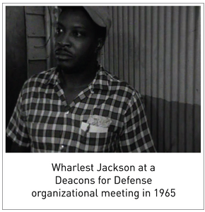 Wharlest Jackson at a Deacons for Defense organizational meeting in 1965