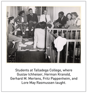 50 Years/50 Collections: Gabrielle Simon Edgcomb and the Refugee Scholars of the HBCUs
