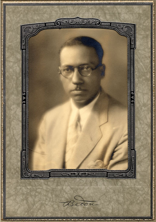 Undated portrait of Lorenzo Dow Turner.