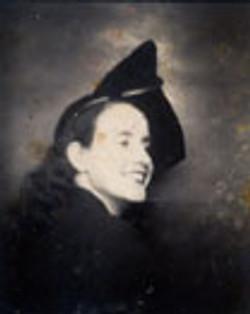 Portrait of Elma Moore Booker, founder of Elma Moore's School of Dance, undated.