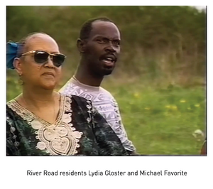 River Road residents Lydia Gloster and Michael Favorite