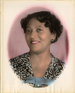 Mildred B. Martinez, founder of the Martinez Kindergarten School.