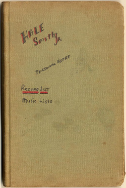 Front cover of book of music and record lists by Hale Smith, n.d.