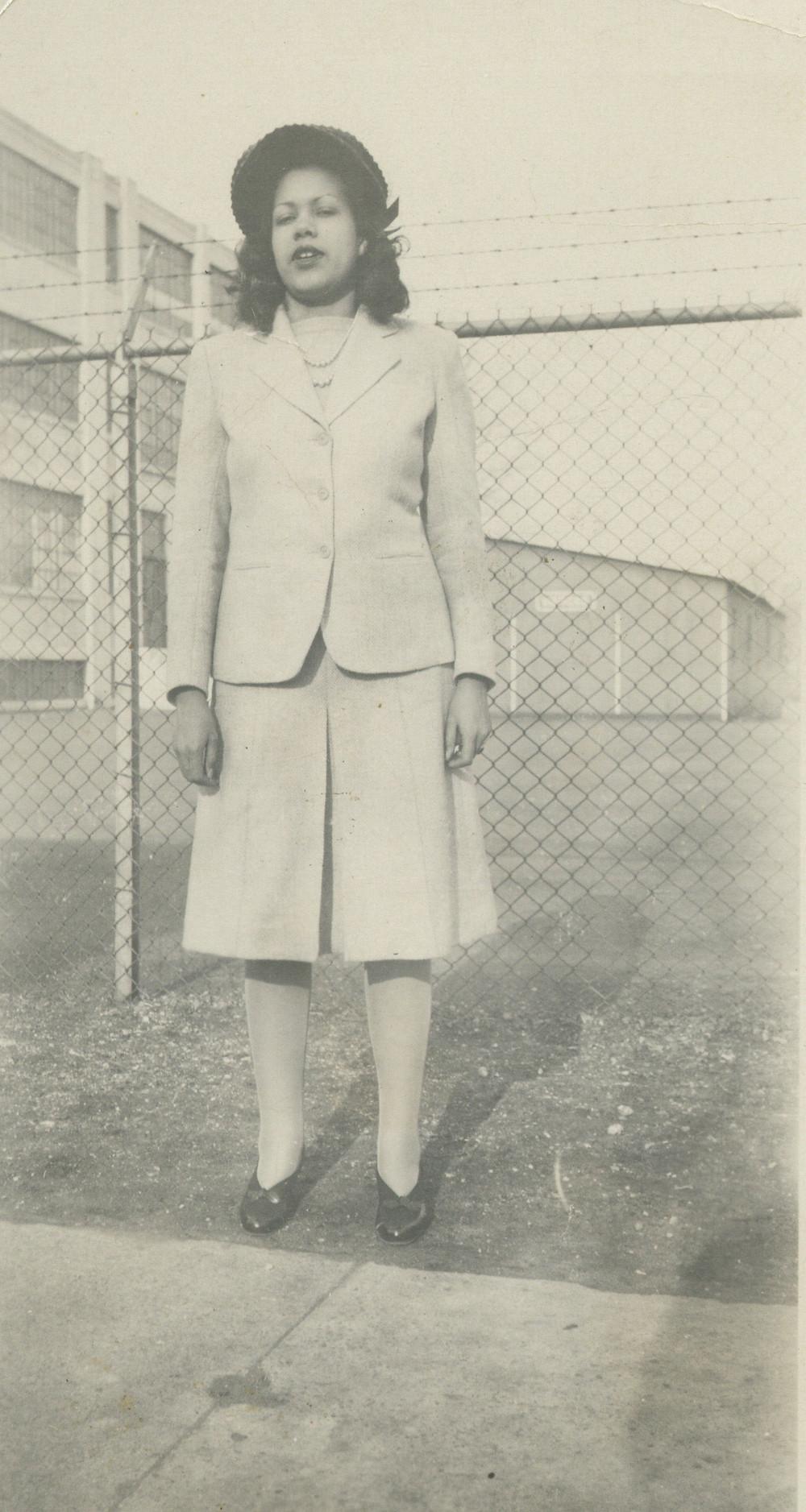 Dorothy R. Yepez, circa 1955