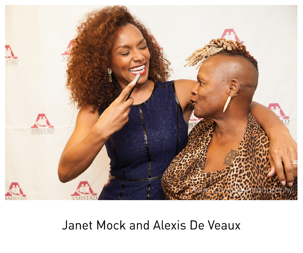 Janet Mock and Alexis De Veaux
