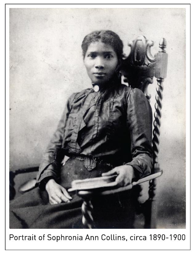 Portrait of Sophronia Ann Collins, circa 1890-1900
