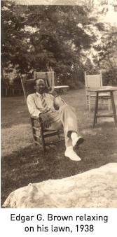 Edgar G. Brown: Lobbyist, Union President, and Tennis Champion