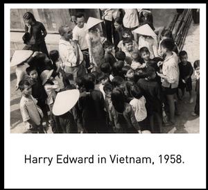 Harry Edward in Vietnam, 1958.