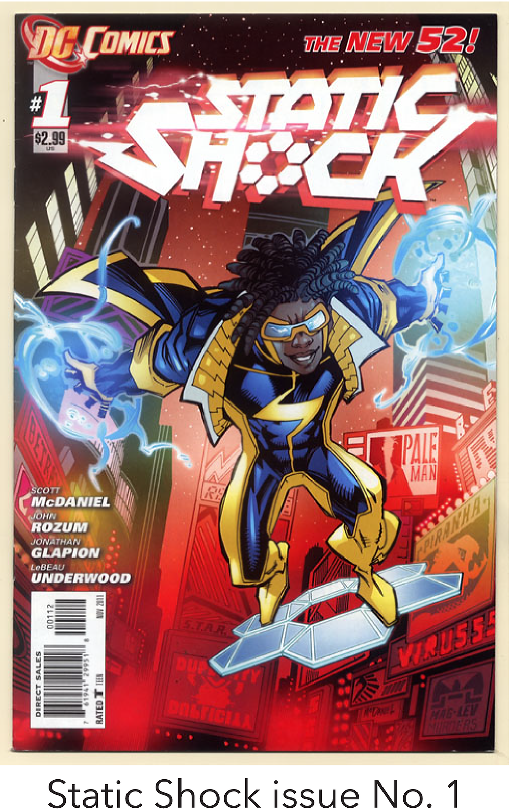 Static Shock issue No. 1