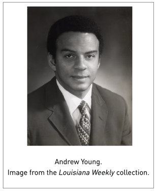 Andrew Young Oral Histories Launch Online