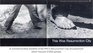 A commemorative booklet of the PPC's Resurrection City encampment, which housed 2,500 people.