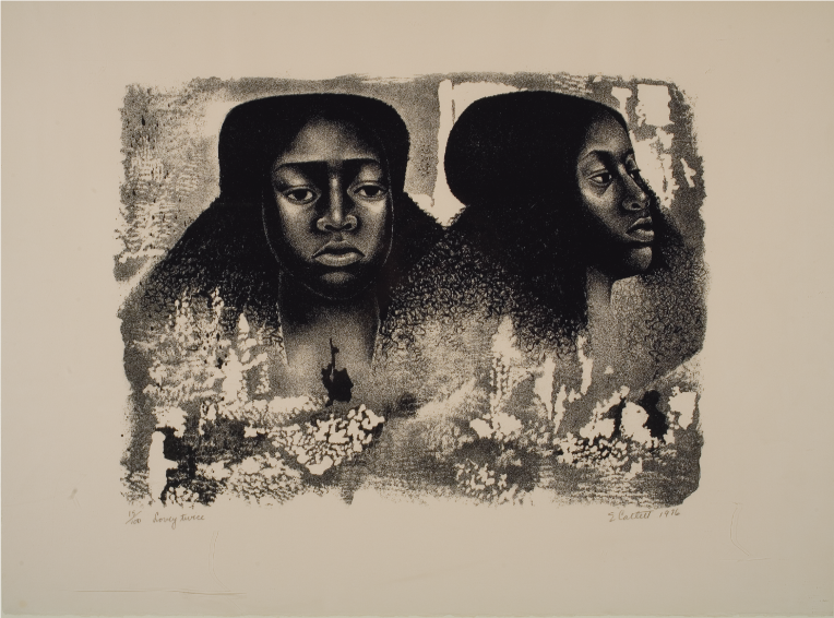 'Lovely Twice', Lithograph, 1976.