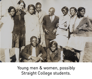 Young men & women, possibly Straight College students.