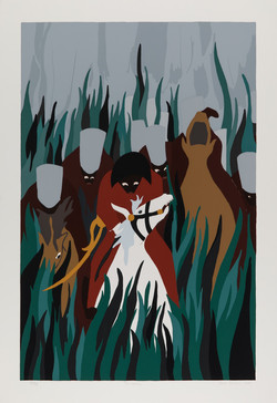 'The Capture' by Jacob Lawrence