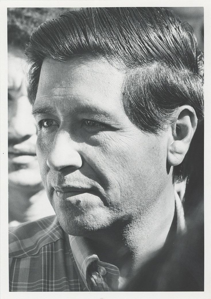Cesar Chavez, circa 1970s.