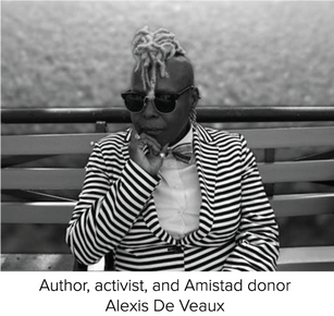 De Veaux Reflects on Giving to Amistad