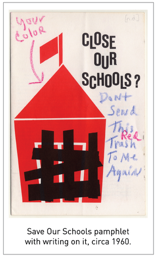 50 Years/50 Collections: Save Our Schools records