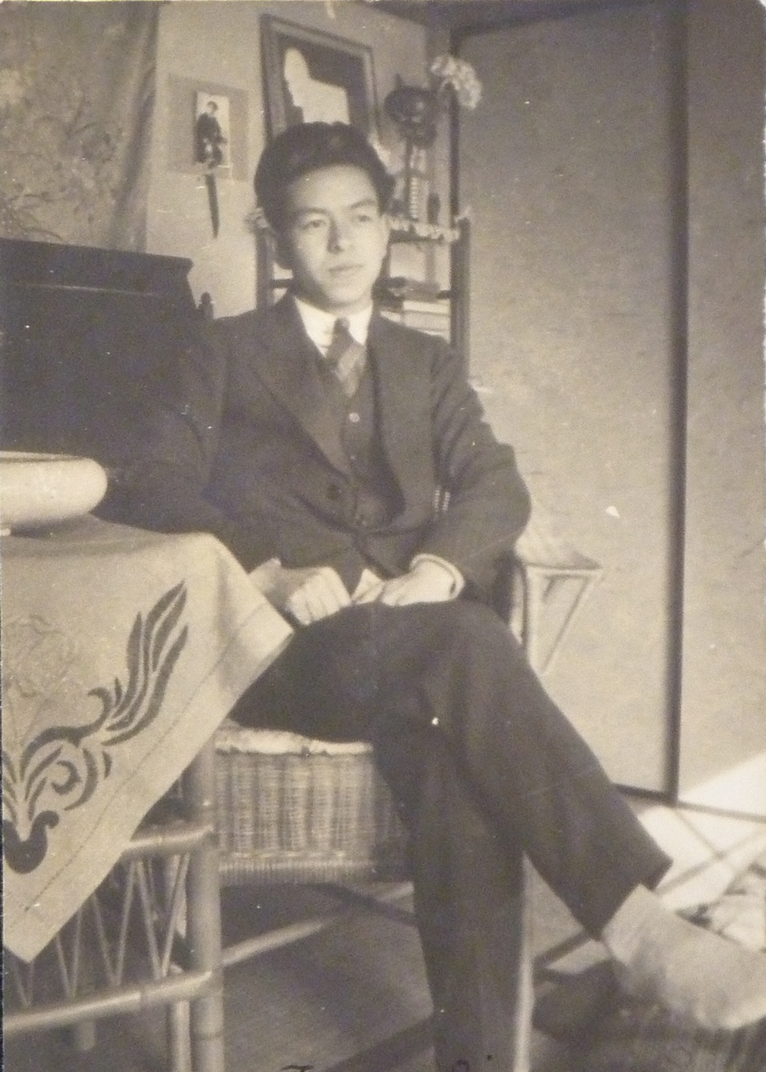 Undated photograph of Japanese émigré Tsuyoshi Matsumoto. Courtesy of Helen Kagan