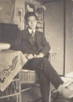 Undated photograph of Japanese émigré Tsuyoshi Matsumoto. Courtesy of Helen Kagan