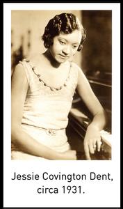 Jessie Covington Dent, circa 1931.