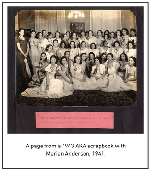 50 Years/50 Collections: Alpha Kappa Alpha – Alpha Beta Omega Chapter Records, 1935-2008