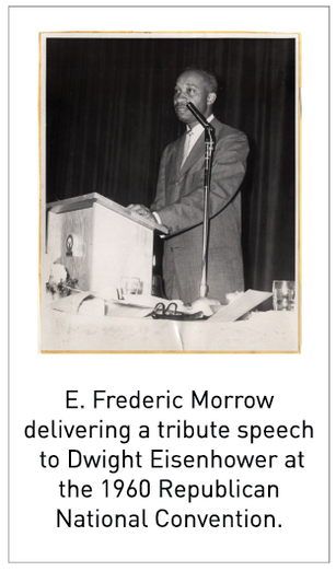 50 Years/50 Collections: E. Frederic Morrow Papers, 1995