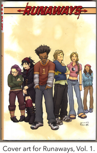 Cover art for Runaways, Vol. 1.