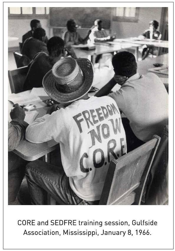 CORE and SEDFRE training session, Gulfside Association, Mississippi, January 8, 1966.