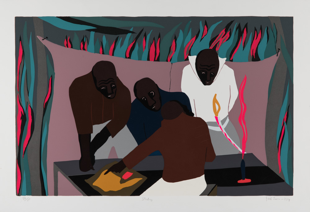 'The Strategy' by Jacob Lawrence